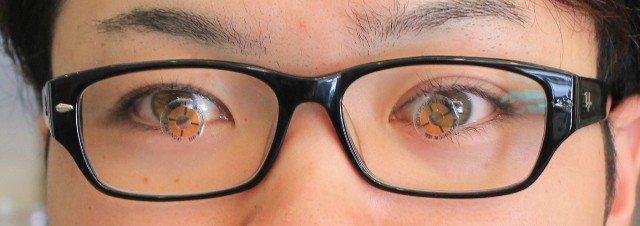 眼振盪と矯正眼鏡