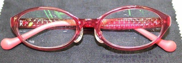 部分調節性内斜視、累進屈折力眼鏡 総重量16.3g