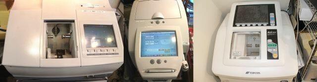 ME-1000(ニデック)ICE-1000(ニデック)レンズ加工ユニット