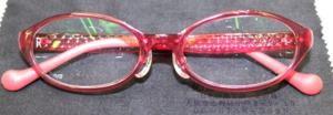 部分調節性内斜視、累進屈折力眼鏡総重量16.3g