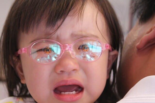 1歳7ヶ月 赤ちゃんのメガネ 可愛い盛り