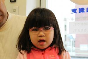 子供メガネ定期点検