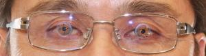 仕上がり眼鏡レンズ中心チェック