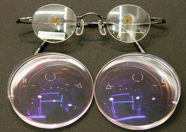 レンズとフレームの概要