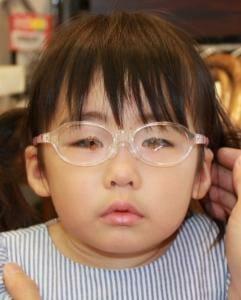 出来上がった眼鏡