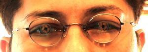 レンズと目の中心チェック