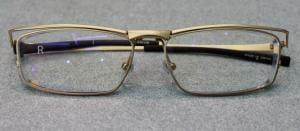 完成した眼鏡