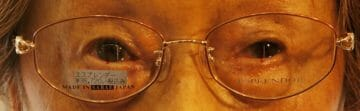 眼位測定中