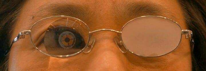 ロービジョン用眼鏡装着