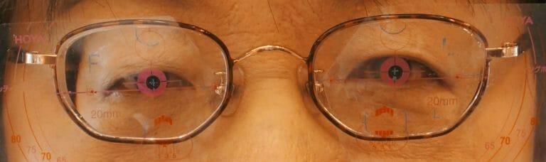 新たに作った中近メガネ