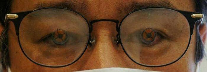 眼鏡チェーン店で作った眼鏡