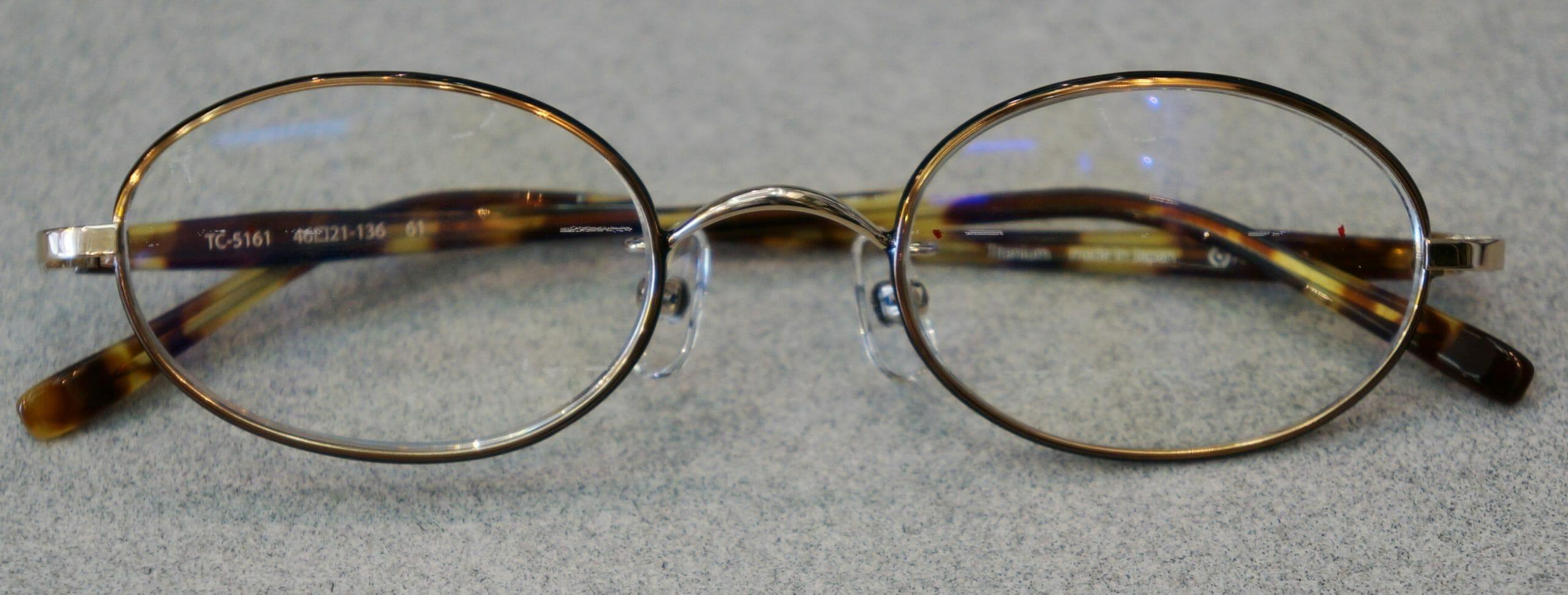 完成眼鏡概略