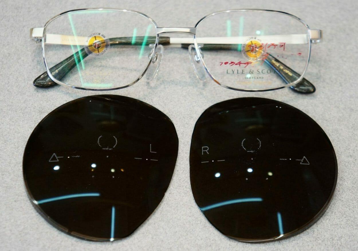 最新偏光レンズとフレーム